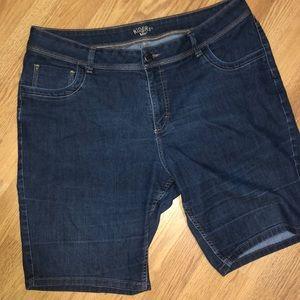 🆕Riders by Lee EUC Five Pocket Denim Shorts